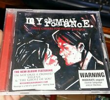 My Chemical Romance - Three  Cheers For Sweet Revenge MUSIC CD- FREE POST