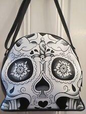 Iron Fist Urban Decay Black White Bag Skull Art Punk Tattoo Bag NWT