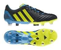 Adidas Predator Incurza XT SG Navy Lime Blue Rugby Boots [G60023]
