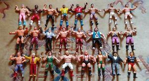 WWF LJN Wrestling Superstars Lot of 24 Figures C. 1984 - 1988 USED