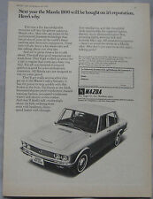 1970 Mazda 1800 Original advert No.1