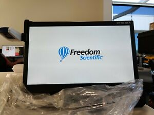 """Freedom Scientific ONYX Deskset HD and OCR 24"""" - Portable Video Magnifier"""