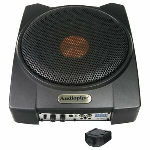 """Audiopipe 8"""" 300 Watts Dual 2 Ohm Active Enclosed Subwoofer System - APLP-803"""