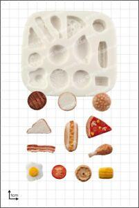 Silicone mould Miniature Food | Food Use FPC Sugarcraft FREE UK shipping!