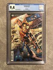 Superman 25 9.4 CGC Variant Cover