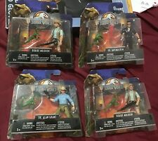 Jurassic Park World Legacy Collection Figures Lot of 4 New Matte