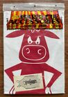 Vintage Parvin Creations, barbecue accessories, barbecue apron, 'lot-a-bull'