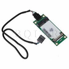 Mini PCI-E Express to USB Interface Wireless Card With SIM Adapter 90 Degree