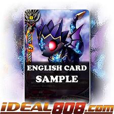 Buddyfight x 4 Black Dragon, Fweth [X-BT02/0097EN C] English Mint Future Card