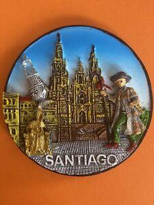 Souvenir Fridge Magnet - Santiago