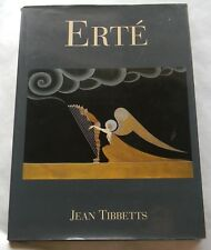 Erté Jean Tibbetts Hardcover DJ Art Deco Book 1996 Pre Owned Free Shipping