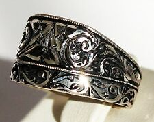 Sterling Silver 925 men ring . made in Erzurum in a City in Turkey ,which is fam