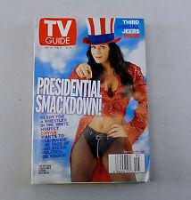 Chyna Wrestling TV Guide President Smackdown Jan 2000 Wrestler Woman Champ wwe