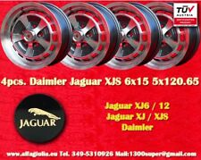4  Cerchi Jaguar Daimler 6x15 Jaguar XJ6 XJ12 XJS Wheels Felgen Llantas Jantes