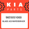 98350S1000 Kia Blade assywiperdriver 98350S1000, New Genuine OEM Part