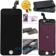 For iPhone 5C Black Screen LCD Display Touch Digitizer Assembly Replacement UK