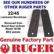 FACTORY Laminated Wood Grips RUGER 22-45 MARK MK III 3 ONLY w / removable panels