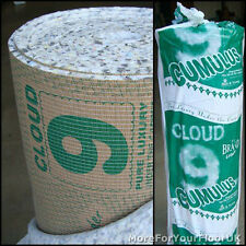 2 X Cumulus - 11mm Thick Cloud 9 Carpet Underlay, 30 M²