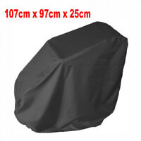 Black Waterproof Wheelchair Storage Cover for Electric Manual Folding Wheelchair