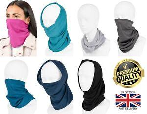 New Multi-Functional Neck Tube Mask Unisex Snood Balaclava Headband Face Cover