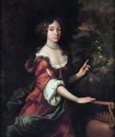 "perfect oil painting handpainted on canvas""Mary II Stuart (1662-1695)""@13427"