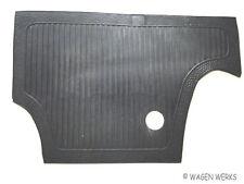 VW Bug Firewall Mat - Bug 1966 to 1972 - Black