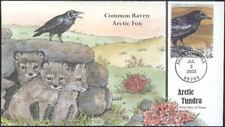 #3802c Common Raven Collins FDC (00520033802c001)