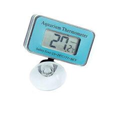 LCD Digital Anzeige Unterwasser Fisch Tank Aquarium Thermometer Saugnapf 2017