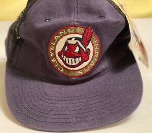 Cleveland Indians Snapback MLB Baseball Cap 90's Vintage / Classic / Retro