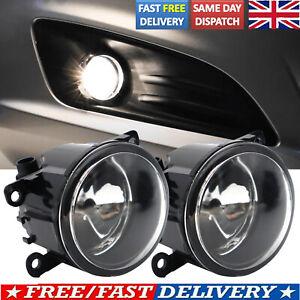 2X BUMPER FRONT FOG LIGHT LAMP FOG LAMPS FOR FORD FIESTA 7 8 TRANSIT MK7 06-14