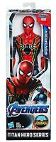 "Marvel Avengers 12"" Spiderman Titan Hero Series Iron Spider Endgame"