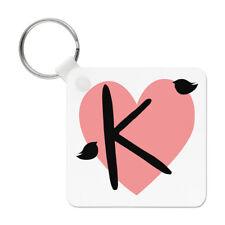 lettre k cœur Alphabet Porte clé Porte-clés - SAINT VALENTIN LOVE Girlfriend