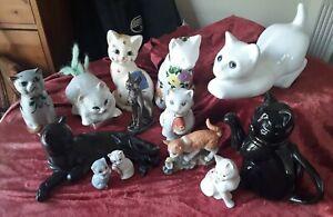 Joblot of China Cats