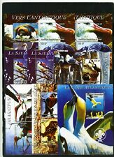 CONGO 2004 FAUNA BIRDS OF AFRICA 6 SHEETS OF 4 STAMPS & 2 S/S MNH