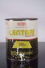 Dupont Centari Mixing Tint Acrylic Enamel Auto Paint Yellow L/F 765A Gallon