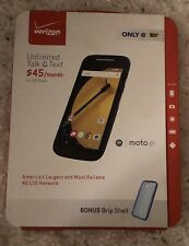 New Motorola Moto E Black (Verizon PrePaid)