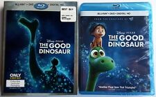 NEW DISNEY PIXAR THE GOOD DINOSAUR BLU RAY DVD LENTICULAR SLIPCOVER BEST BUY