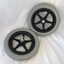 """Invacare Action NG 2 Assistant Wheel Chair Rear Wheels x 2 12"""" VGC"""