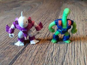 1986 Vintage Battle Beasts Mini Figures