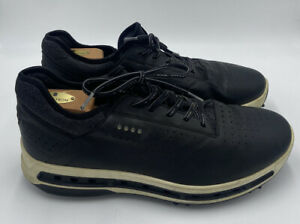 ECCO Cool 18 Gore-Tex Golf Shoes Men's Size 11 US EU 45 Black Leather