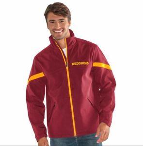 G-III Sports Washington Redskins Men's Franchise Full Zip Soft Shell Jacket