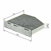 BOSCH Activated Carbon Cabin Filter 1987432464 - Single