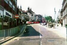 PHOTO  1976 KENT LOWER HIGH STREET ASHFORD WORK IS IN PROGRESS TO WIDEN THE PAVE