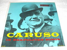 """Enrico Caruso """"In Neapolitan Songs"""" 1950's LP, SEALED!, RCA, #LCT-1106"""