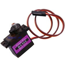 MG90S Metal Gear Micro Servo for RC Helicopter Airlane Boat Car Horns MG-90S