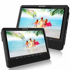 WONNIE 9.5 Car Dual Portable DVD Players, 1024x800 HD LCD TFT, Stereo Sound