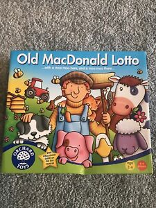 NEW Orchard Toys Old McDonald Lotto Memory Board Game BNIB Early Learning Animal