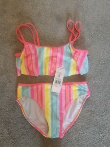 F&F Girls Bikini Age 11. Multicoloured . BNWT