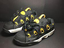Osiris D3 2001 Skate Shoes - Men's US size 9 - Black/Yellow/White