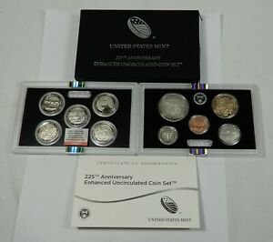 2017 S 225th Anniversary Enhanced Set NGC DENVER ANA First Day of Issue FDI
